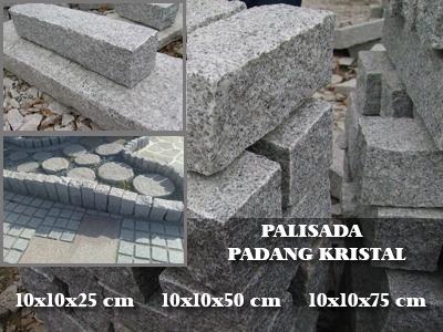 PALISADA - Padang Kristal - 10*10*(25/50/75)cm