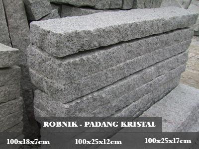 ROBNIK - Padang Kristal - 100*18*7 cm | 100*25*12 cm | 100*28*17 cm